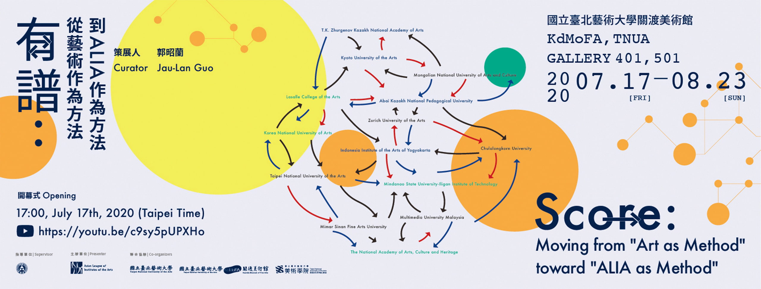 "SCORE: Moving from ""Art as Method"" toward ""ALIA as Method"""