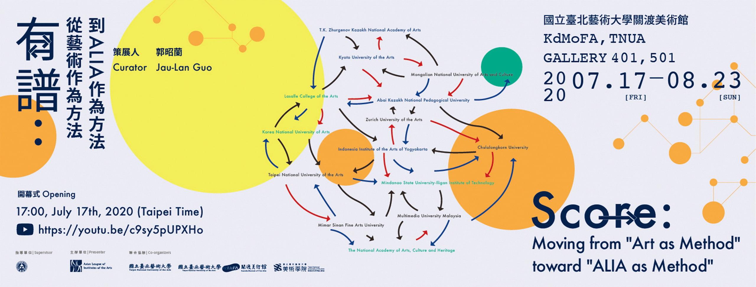 有譜計劃:從藝術作為方法到ALIA作為方法